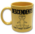 DESCENDENTS - I DON'T WANT TO GROW UP COFFEE MUG