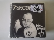 7 SECONDS - SKINS BRAINS & GUTS EP