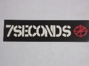 7 SECONDS - 7 SECONDS WITH LOGO STICKER