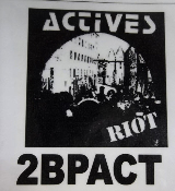 ACTIVES - RIOT BACK PATCH