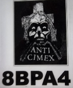 ANTI CIMEX - SKULL BACK PATCH