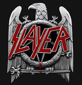 SLAYER - EAGLE TRAILER HITCH COVER