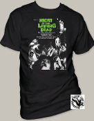 "MOVIE TEE SHIRT - NIGHT OF THE LIVING DEAD ""POSTER"""