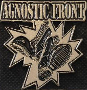 AGNOSTIC FRONT - BOOTS METAL PIN