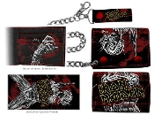 IRON MAIDEN - SOMEWHERE BACK IN TIME LEATHER WALLET WITH CHAIN
