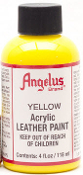 YELLOW ACRYLIC LEATHER PAINT