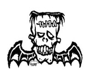 PIGORS STICKER - FRANKENBAT STICKER