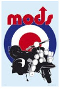 POSTER - MODS SCOOTER