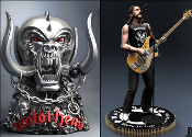 MOTORHEAD - LEMMY KILMISTER + WARPIG (THE SET) ROCK STATUE