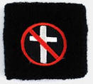 BAD RELIGION - CROSSBUSTER WRISTBANDS
