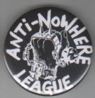 ANTI NOWHERE LEAGUE - LOGO BUTTON / BOTTLE OPENER / KEY CHAIN