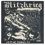 BLITZKRIEG - LEST WE FORGET EP