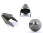 MEDIUM ENGLISH CONE STUDS - BLACK (PACK OF 20)