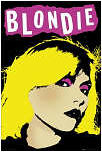 BLONDIE - DEBBIE HARRY POP POSTER