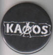 KAAOS - KAAOS BUTTON PIN / BOTTLE OPENER / KEY CHAIN / MAGNET