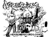 AGRESSION - BAND (CARTOON) POSTER
