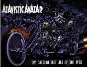 BOOK - Atavistic Avatar: the Cartoon Brut Art of the Pizz