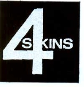 4 SKINS - 4 SKINS BUTTON PIN