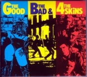 4 SKINS - THE GOOD THE BAD BUTTON PIN