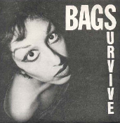 BAGS - SURVIVE BUTTON PIN
