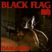 BLACK FLAG - DAMAGED BUTTON PIN