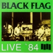 BLACK FLAG - LIVE 84 BUTTON PIN