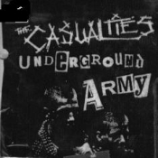 CASUALTIES - UNDERGROUND ARMY PATCH
