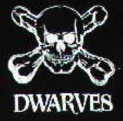 DWARVES - LOGO PATCH