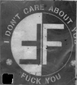 FEAR - I DON'T CARE ABOUT YOU, FUCK YOU PATCH