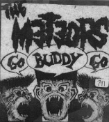 METEORS - GO BUDDY GO PATCH
