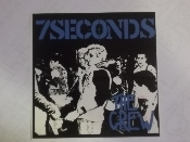 7 SECONDS - THE CREW STICKER