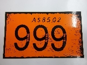 999 - LOGO STICKER