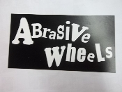 ABRASIVE WHEELS - ABRSIVE WHEELS STICKER
