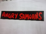 ANGRY SAMOANS - ANGRY SAMOANS STICKER