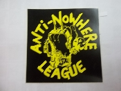 ANTI NOWHERE LEAGUE - FIST STICKER