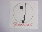 BAUHAUS - LOGO STICKER