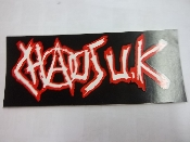 CHAOS UK - CHAOS UK STICKER