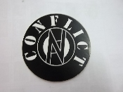 CONFLICT - LOGO (CIRCLE) STICKER