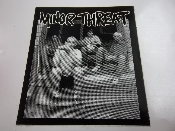 MINOR THREAT - BAND PICTURE STICKER