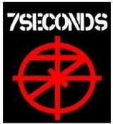 7 SECONDS - LOGO BUTTON PIN