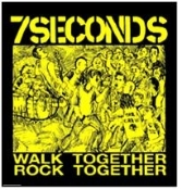 7 SECONDS - WALK TOGETHER BUTTON PIN