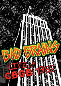BAD BRAINS - LIVE CBGB 1982 DVD