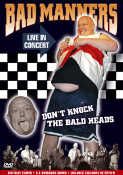 BAD MANNERS - LIVE DVD