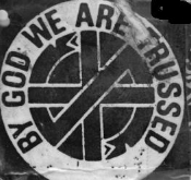 CRASS - BY GOD WE ARE TRUSSED PATCH