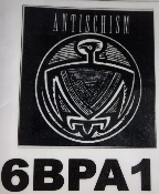 ANTISCHISM - LOGO BACK PATCH