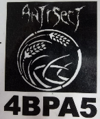 ANTISECT - LOGO BACK PATCH