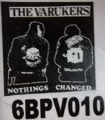 VARUKERS - NOTHING CHANGED BACK PATCH