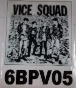 VICE SQUAD - BAND PICTURE BACK PATCH