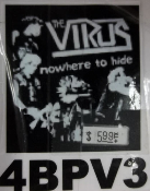 VIRUS - NOWHERE TO HIDE BACK PATCH