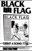 BLACK FLAG - NERVOUS BREAKDOWN POSTER